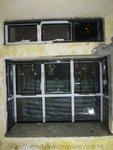 屯門恆福花園黑色鋁窗 (5)