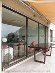 港島山頂柯士甸山道鋁窗玻璃門 (7)