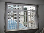 九龍塘雅景樓白色鋁窗 (1)
