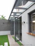 元朗峰景豪園鋁窗玻璃趟摺門 (4)