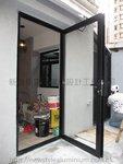 紅磡黃埔新村鋁料玻璃門 (1)