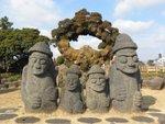 Harubang(濟州爺爺像)is recognised as a symbol of Jeju.