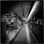 疫情下的MTR station