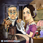 Ada Lovelace and Charles Babbage - Programming Joke