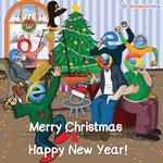 Browserful Christmas and New Year - Programming Joke