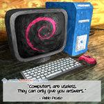Computers Are Useless - Programming Joke