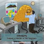 Debugging Software - Programming Joke