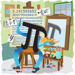 Π - Mathematics Joke