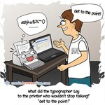 Printer - Web Joke