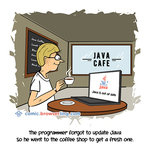 Java Cafe Programming Joke